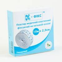 Пластир еластичний фіксувальний на нетканинній основі К-фикс 10м х 2,5см №1 Калина