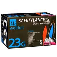 Безпечні ланцети Wellion Calla 23g, 200 шт.
