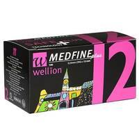 Універсальні голки Wellion MEDFINE plus для інсулінових шприц-ручек 12 мм ( 31g x 0,25 мм)