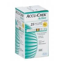 Тест-полоски Accu-Chek Aktive Glucose, 25 шт.