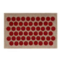 Коврик массажно-акупунктурный Lounge mini 32х21 см (красные фишки) OnhillSport