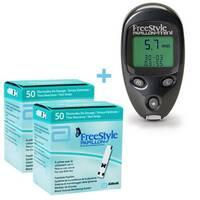 Глюкометр FreeStyle Papillon Mini + 100 тест-полосок (ABBOTT, США)