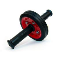 Ролик для пресса Красный (резиновые ручки) OnhillSport