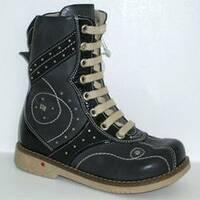 Дитячі ортопедичні чоботи для хлопчиків Mimy арт.418, мод.72-57-012, (Туреччина)