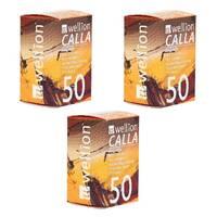Тест-полоски Wellion Calla Light №50 - 3 уп. Оптовый комплект!