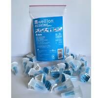 Універсальні голки Wellion MEDFINE plus для інсулінових шприц-ручек 8мм ( 31g x 0,25 мм) 20 шт