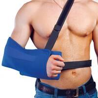 Косыночный бандаж для плечового суглоба з подушкою РП-6У-10°  (M - XL) Реабилитимед, що відводить