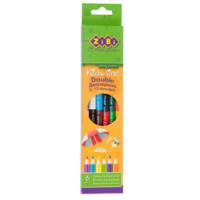 Олівці кольорові дитячі Double 12 кольорів ZiBi