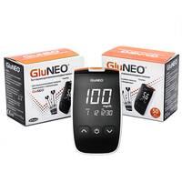 Акційний набір Глюкометр GluNeo (ГлюНео) з 100 тест-полосками