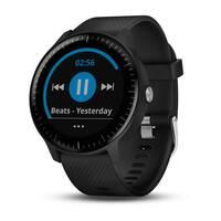 Спортивные часы Vivoactive 3 Music черные с черным ремешком Garmin