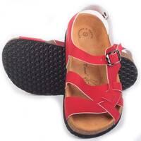 Анатомічні сандалі FA - 107 червоні Foot Care