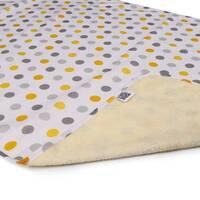Пелюшка двостороння непромокальна Eco Cotton р.65х90 див. горошок Ач Пупс