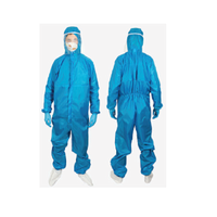 Захисний комбінезон з капюшоном і водостійким покриттям (болонья), Текстиль контакт