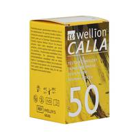 Тест-полоски Wellion Calla Light, 50 шт.