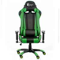 Кресло ExtremeRace black/green Special4You