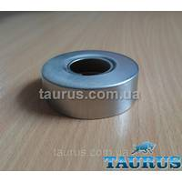 Круглий об'ємний декоративний фланець D60 / висота 20 мм з нержавіючої сталі, внутрішній розмір 3/4