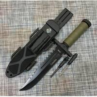 Охотничий нож Colunbia с огнивом и компасом 32см / 2538В