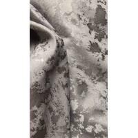 Шторы мрамор с переливом серый цвет в зал