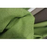 Ткань для штор мешковина зеленого цвета
