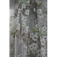 Тюль занавеска органза яблочное цветение