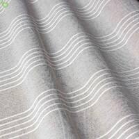 Тюль с тонкими полосами графитового серого цвета в спальную, зал 83285v1