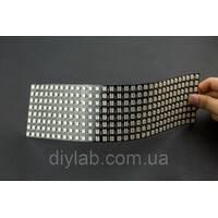 Гнучка світлодіодна матриця 8x32 NeoPixel RGB WS2812B