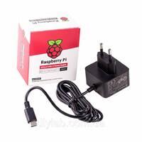Офіційний блок живлення 5В 3А USB-C для Raspberry Pi 4 B