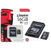Kingston Industrial Temperature microSD 16gb (UHS - I, 90Мб/с, 45Мб/с, - 40 до 85c)