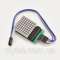 Світлодіодна матриця 8x8 з драйвером MAX7219