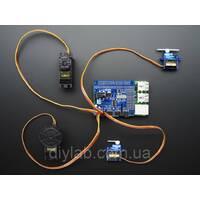 16 канальний 12-bit PWM/Servo для Raspberry Pi I2C інтерфейс