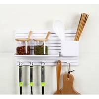 Мультифункциональный настенный органайзер для кухни, ванной, мелочей