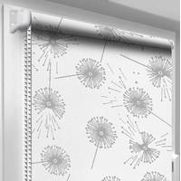 Рулонная штора DecoSharm Цветы 5428/1 62.5 х 170 см