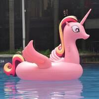 Надувная платформа-матрас Единорог Pink 200см