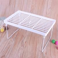 Складная Полка - столик, подставка, стеллаж 31х19, 5 (Белый)
