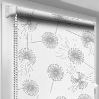Рулонная штора DecoSharm Цветы 5428/1 97.5 х 170 см