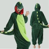 Пижама кигуруми Динозавр зеленый (M)