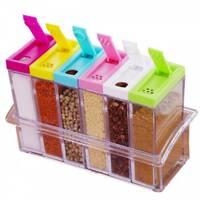 Набор емкостей для специй из 6 контейнеров