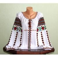 Буковинська вишиванка жіноча. ручна робота