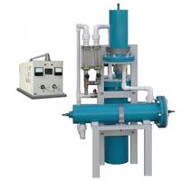 Block electrolysis plant water disinfection with sodium hypochlorite