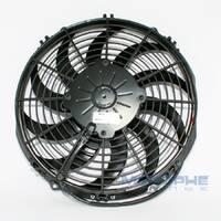 "Вентилятор 11"" (280 mm), 12V, тянучий, 1430 m3/h, SPAL - VA09-AP12/C-54A"