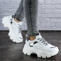 Женские кроссовки белые Ash 1956 (40 размер)