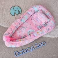 Кокон позиционер для новорожденных Dobryi son 85х52 см 05-02 розовый