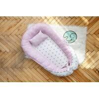 Кокон-гнездышко для новорожденных Dobryi son Звёздочка с подушкой 5-02
