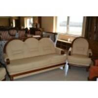 Кожаный комплект мебели CONSUL 3+1+1