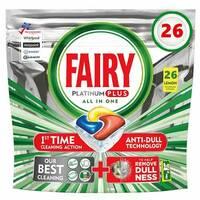 Капсулы для посудомойки Fairy platinum plus 26 Бельгия
