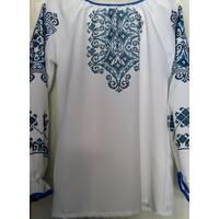 Заготівля сорочки (пошита)  ''Синій орнамент''