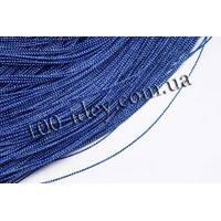 Шнур декоративний  1мм (синій)