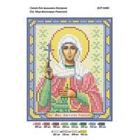 Схема для вишивки бісером ікони '' Св.муч.Виктория Римська  ''