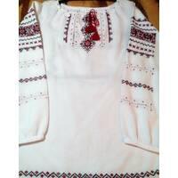 Вишиванка для дівчинки (ручна вишивка) ''Традиція 2''