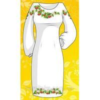 Сукня ( домотк.полотно) заготівля